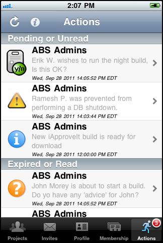 iApproveIt provides real-time process approval via your mobile device
